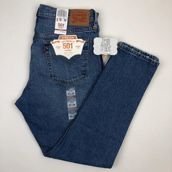 Levi's Denim - NWT Levi's 501 Skinny Leg Jean